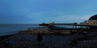 East of Worthing Pier